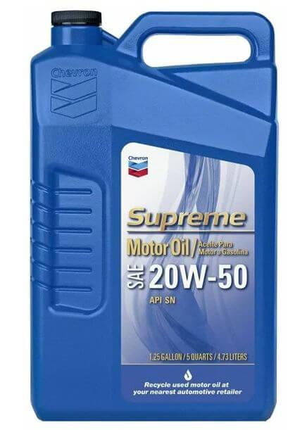 CHEVRON Supreme 20W-50 4,73 л