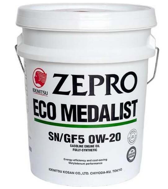 IDEMITSU Zepro Eco Medalist 0W-20 20 л
