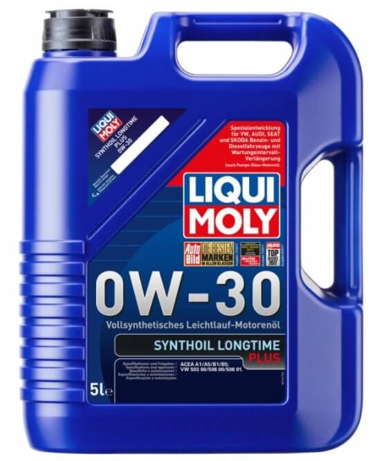 LIQUI MOLY Synthoil Longtime Plus 0W-30 5 л