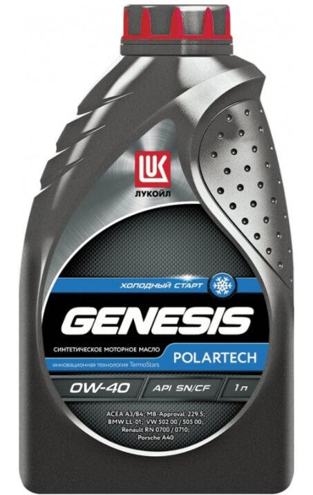 Лукойл Genesis Polartech 0W-40 1 л