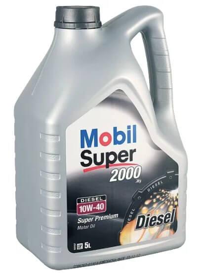MOBIL Super 2000 X1 Diesel 10W-40 5 л
