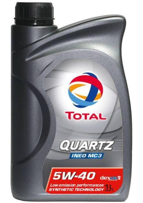 TOTAL QUARTZ INEO MC3 5W40 1 л