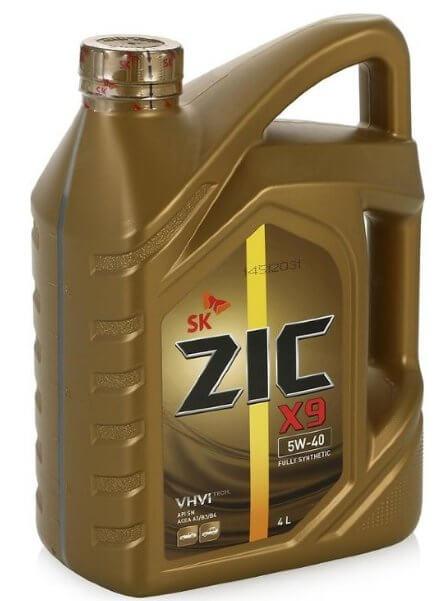 ZIC X9 5W-40 4 л