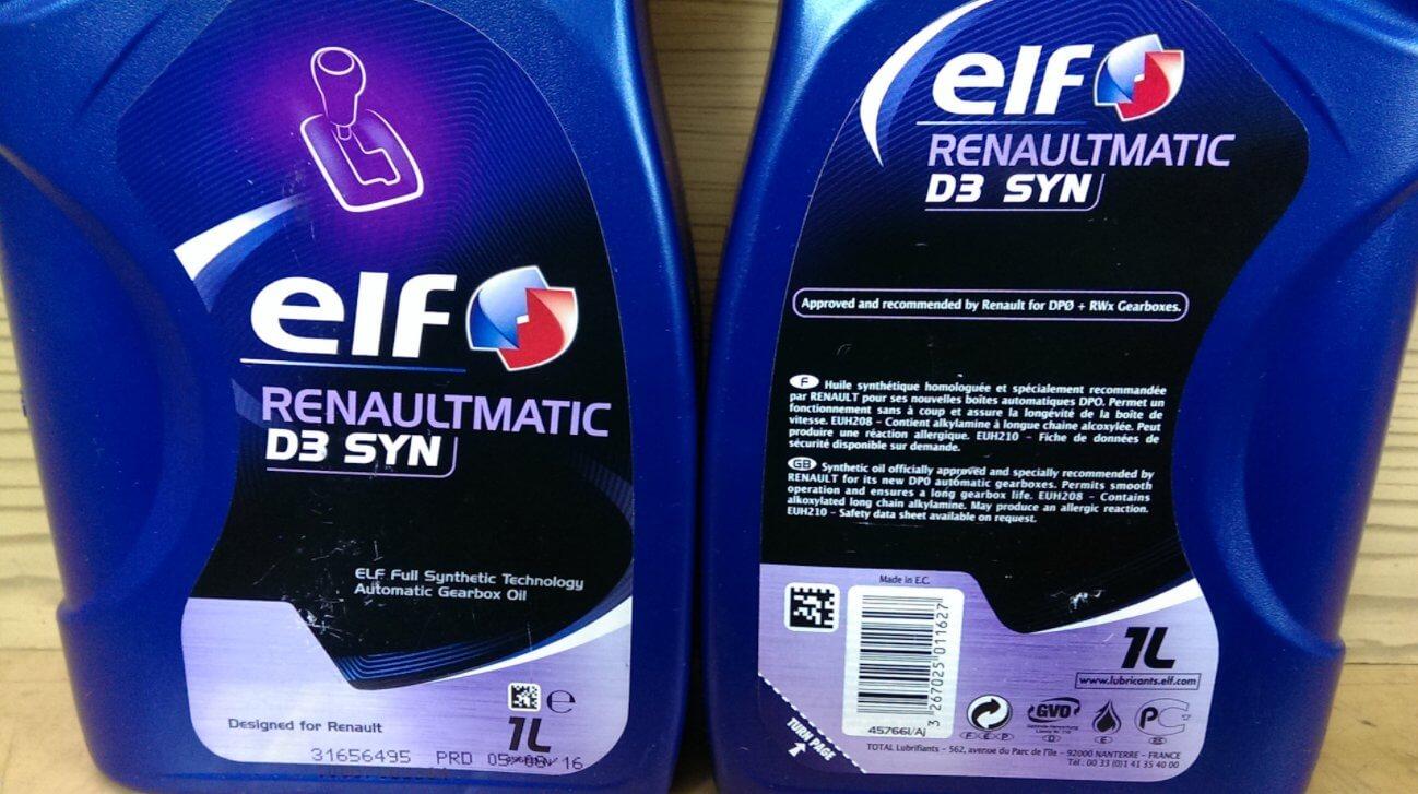 ELF RENAULTMATIC D3 SYN Dexron III