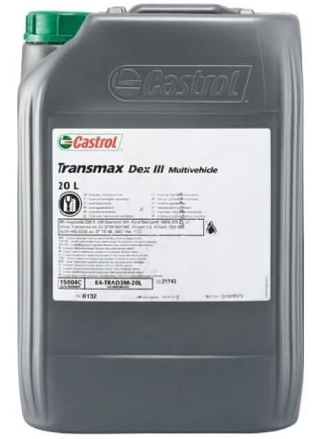 CASTROL Transmax Dex III Multivehicle 20 л