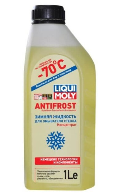 LIQUI MOLY ANTIFROST Scheiben-Frostschutz Konzentrat -70°С, концентрат, 1 л