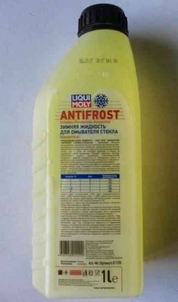 Liqui Moly Antifrost Scheiben-Frostschutz Konzentrat, 1 л