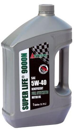 Моторное три-синтетическое масло AMTECOL Super Life 9000N 5W-40