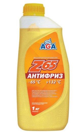 Антифриз АГА желтого цвета