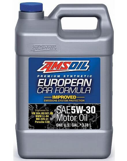 AMSOIL European Car Formula Low-SAPS 5W-30 3,785 л