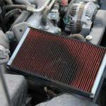 Моторное масло в воздушном фильтре, причины