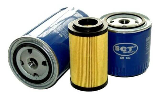 Масляный фильтр для автомобиля