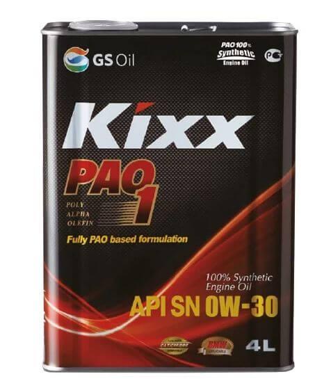 Kixx PAO 1 0W-30 4 л