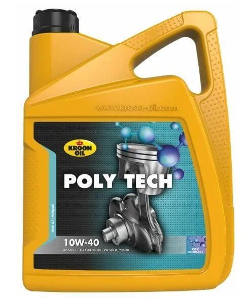Kroon Oil Poly Tech 10W-40 5 л
