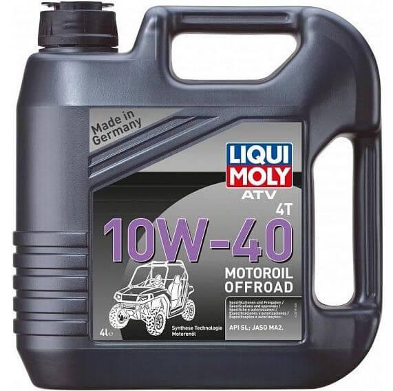 LIQUI MOLY ATV 4T Motoroil Offroad 10W-40 4 л