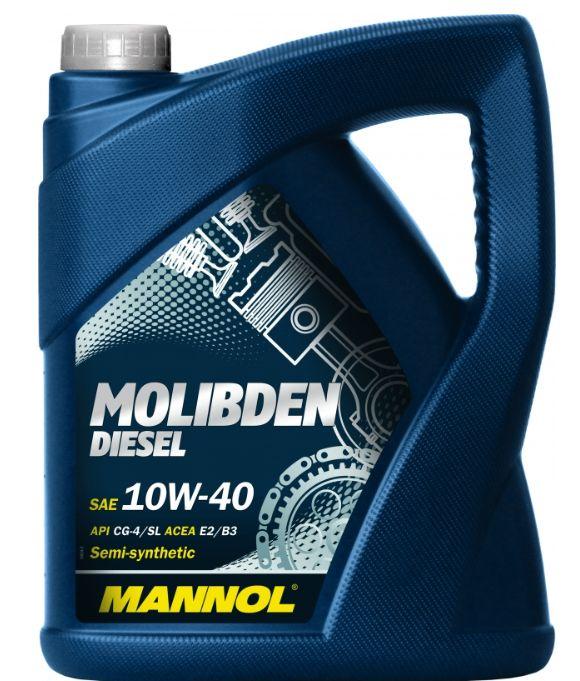 MANNOL Molibden Diesel 10W-40 4 л