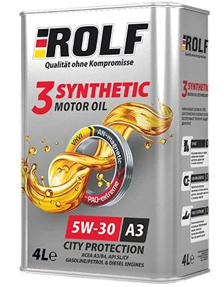 ROLF 3-Synthetic 5W-30 4 л