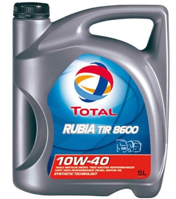TOTAL Rubia TIR 8600 10W40 5 л