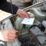 Проверка качества смазки по методу масляного пятна