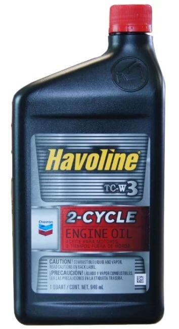 CHEVRON Havoline 2-Cycle TC-W3 0,946 л