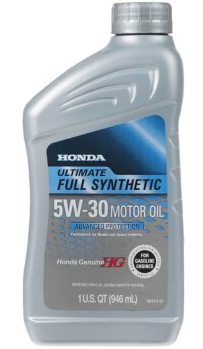 Honda Ultimate, синтетическое 5W-30 946 мл