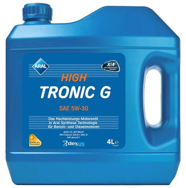 ARAL High Tronic G SAE 5W-30 4 л
