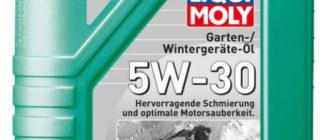 LIQUI MOLY Garten-Wintergerate-Oil 5W-30 CF/SN C3 1 л