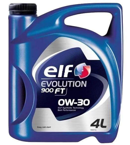ELF Evolution 900 FT 0W-30 4 л