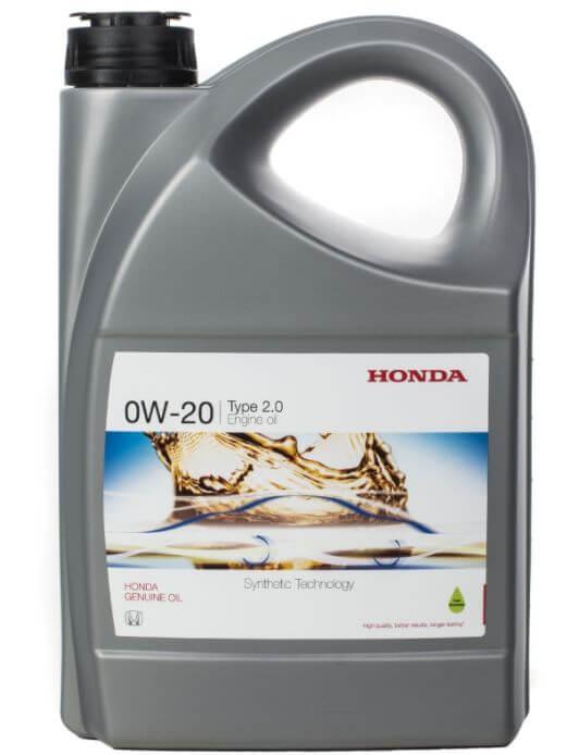 Масло HONDA Engine Oil 0W-20, как отличить подделку