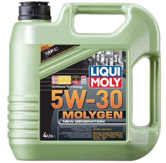 LIQUI MOLY Molygen New Generation 5W-30 4 л