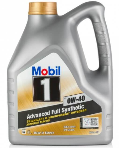 MOBIL 1 FS 0W-40 4 л