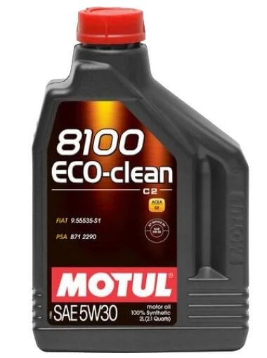 Motul 8100 Eco-clean 5W30 2 л