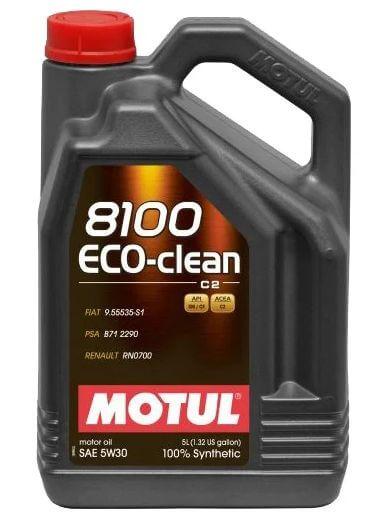 Motul 8100 Eco-clean 5W30 5 л