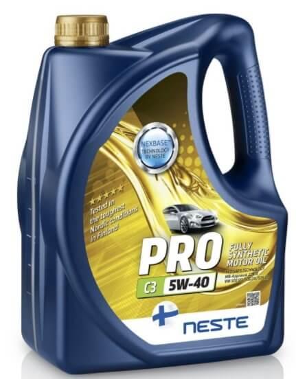 Neste Pro C3 5W40 4 л