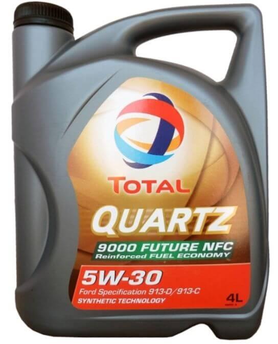 TOTAL Quartz 9000 FUTURE NFC 5W-30 4 л