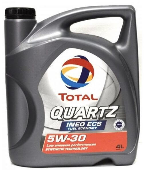 TOTAL Quartz INEO ECS 5W30 4 л