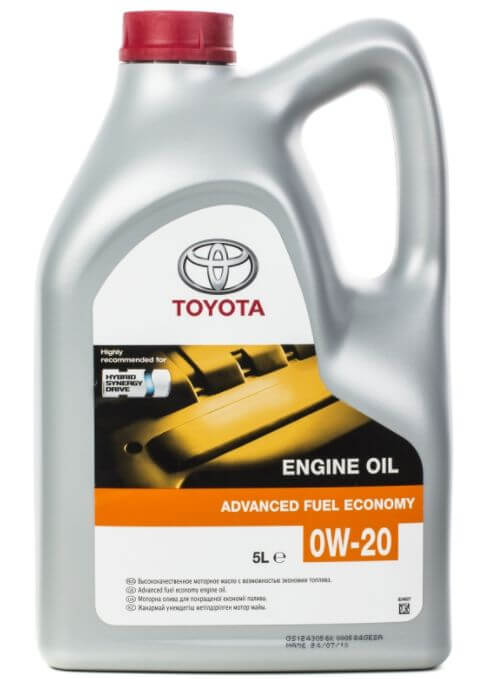 TOYOTA Engine Oil 0W-20 5 л