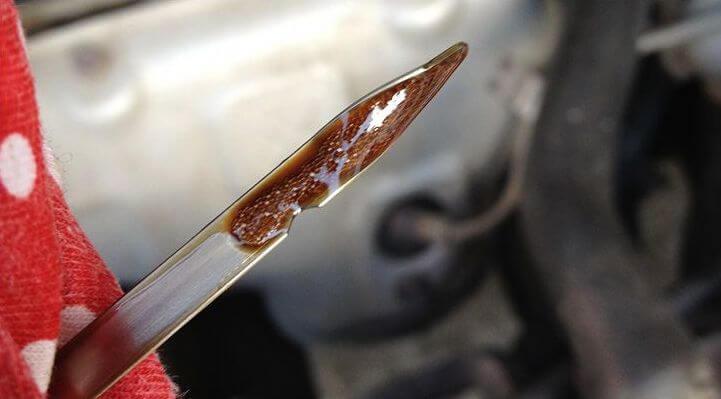 Последствия вспенивания масла