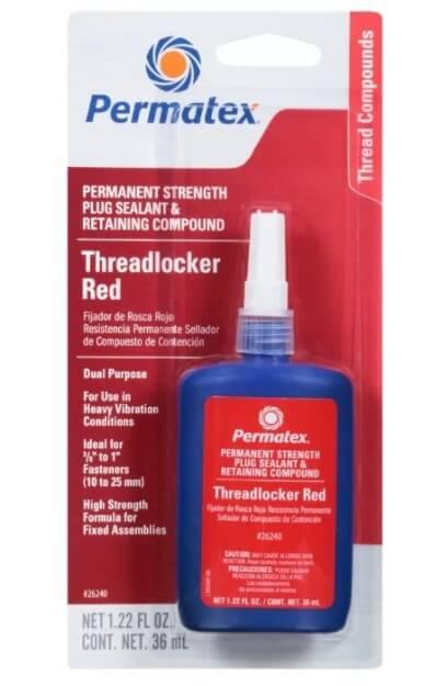PERMATEX Threadlocker Red 1996226240 красный 36 мл