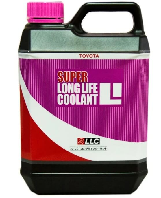 Антифриз TOYOTA Super Long Life Coolant Pink Concentrated