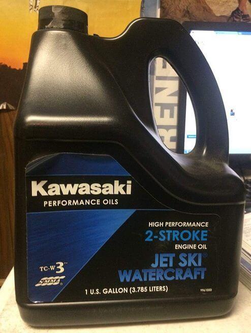Кавасаки Performance Oils 2-Stroke Engine Oil Jet Ski Watercraft 3,785 л