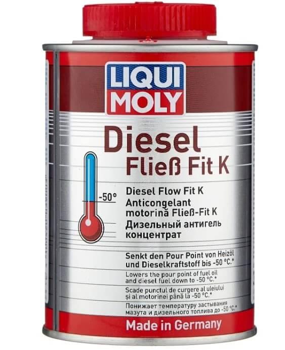 Присадка LIQUI MOLY Diesel Fliess-Fit K, Дизельный антигель концентрат 0,25 л