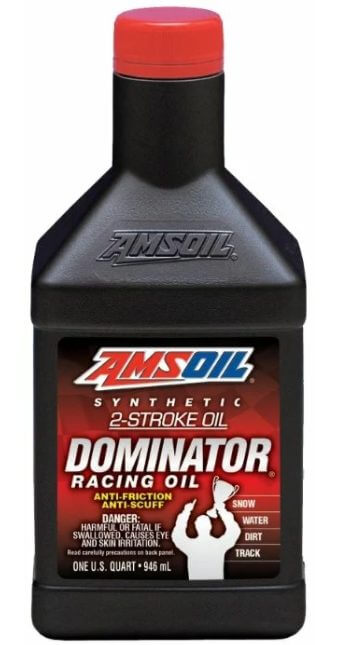 AMSOIL Dominator Synthetic 2-Stroke Racing Oil 0,946 л