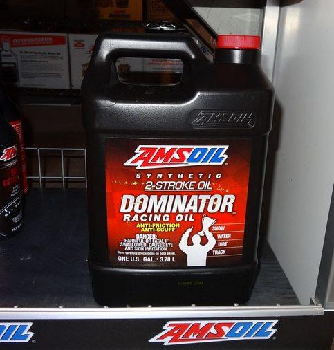 AMSOIL Dominator Synthetic 2-Stroke Oil