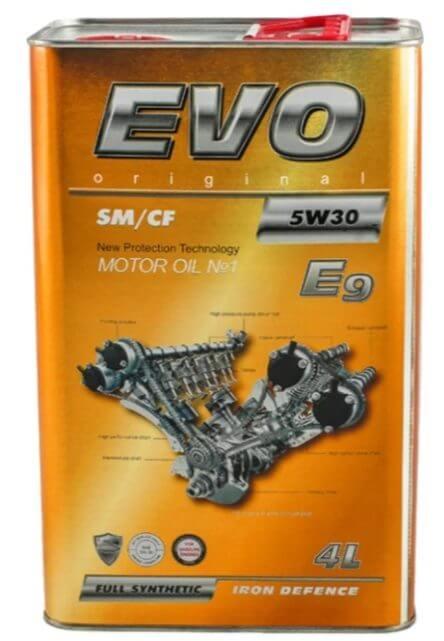 EVO E9 5W30 4 л