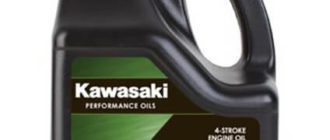 KAWASAKI Performance Oils 4-Stroke Engine Oil ATV/UTV 10W-40 3,785 л