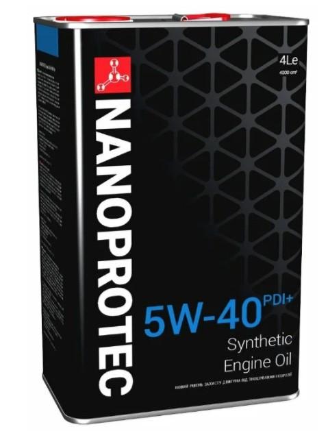 NANOPROTEC Engine Oil 5W-40 PDI+ 4 л