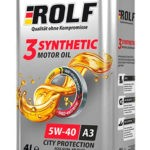 ROLF 3-Synthetic 5W-40 4 л