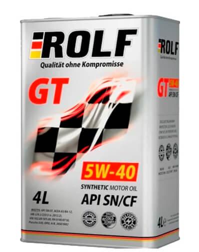 ROLF GT 5W-40 SN/CF 4 л отличить подделку