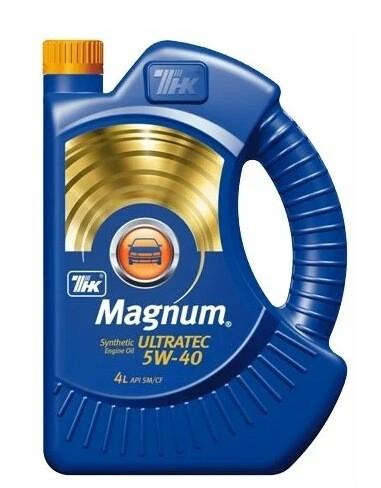 TNK Magnum Ultratec 5W-40 4 л